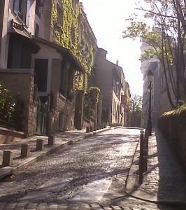"""""""Rue Cortot Montmartre in Paris"""""""