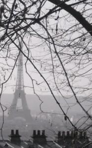 """Eiffel Tower seen from Montmartre"""