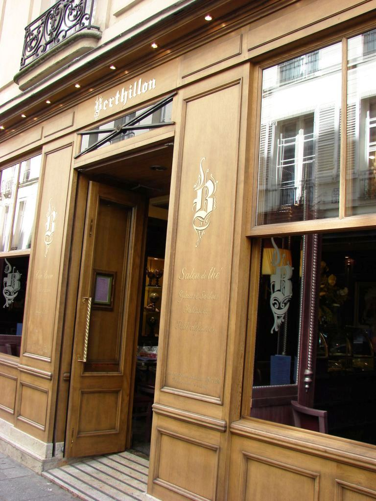 """Berthillon façade Paris"""