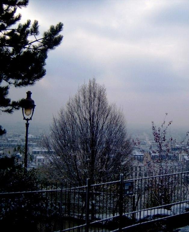 """""""Montmartre in winter"""""""