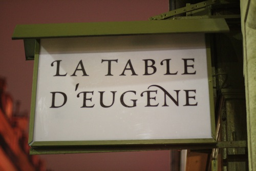 """La Table dEugene"""