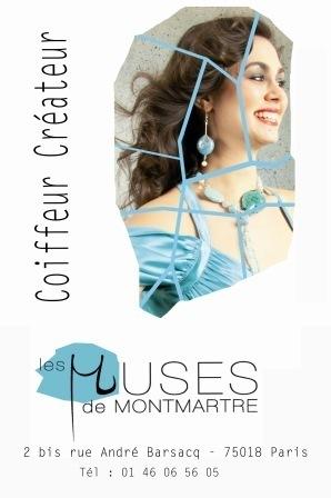 """""""Les Muses de Montmartre Hair Salon"""""""