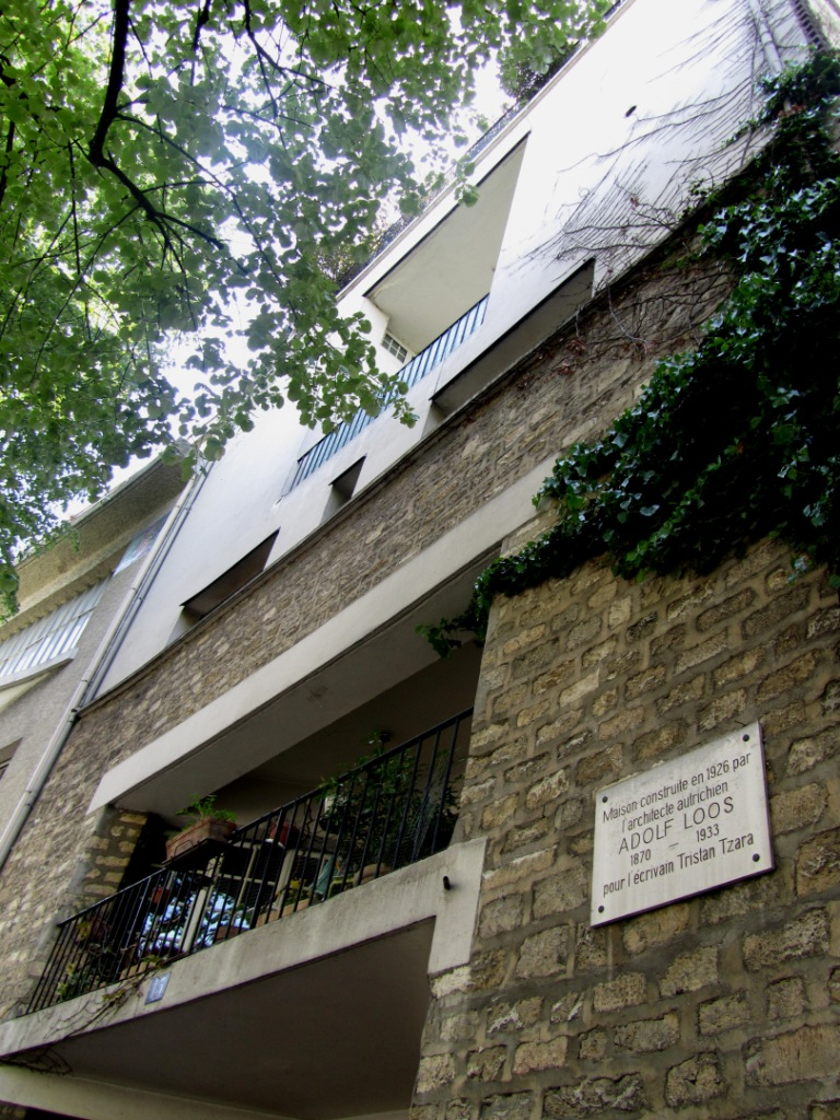"""House by Adolf Loos in Av. Junot Paris Montmartre"""