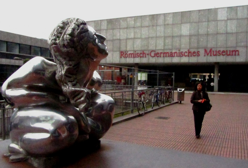 """""""Cologne Germany Roemisch museum on your day trip from Paris"""""""