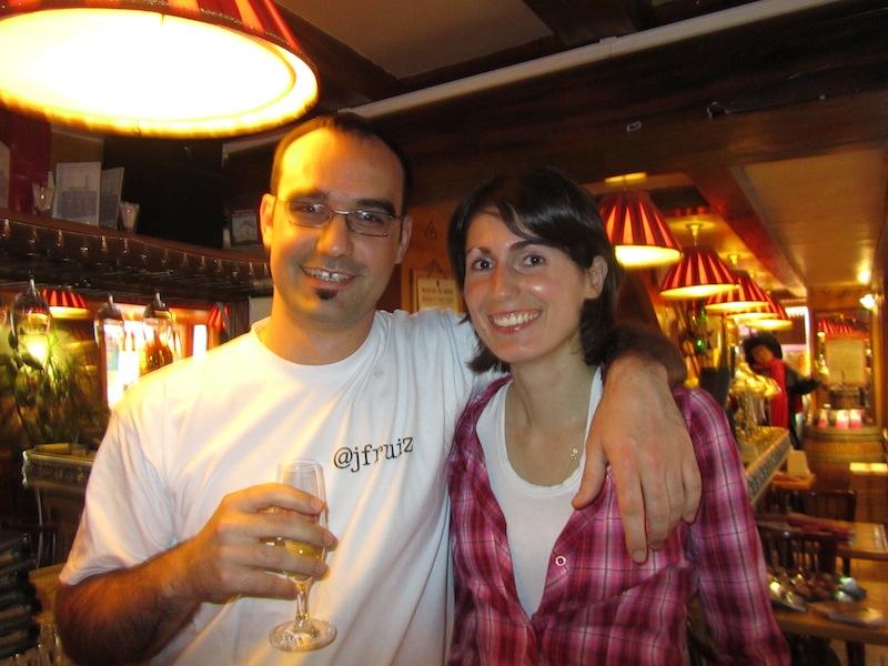 """""""""""Organisers of ParisParis bloggers meet at the La Bonne Franquette Montmatre """""""