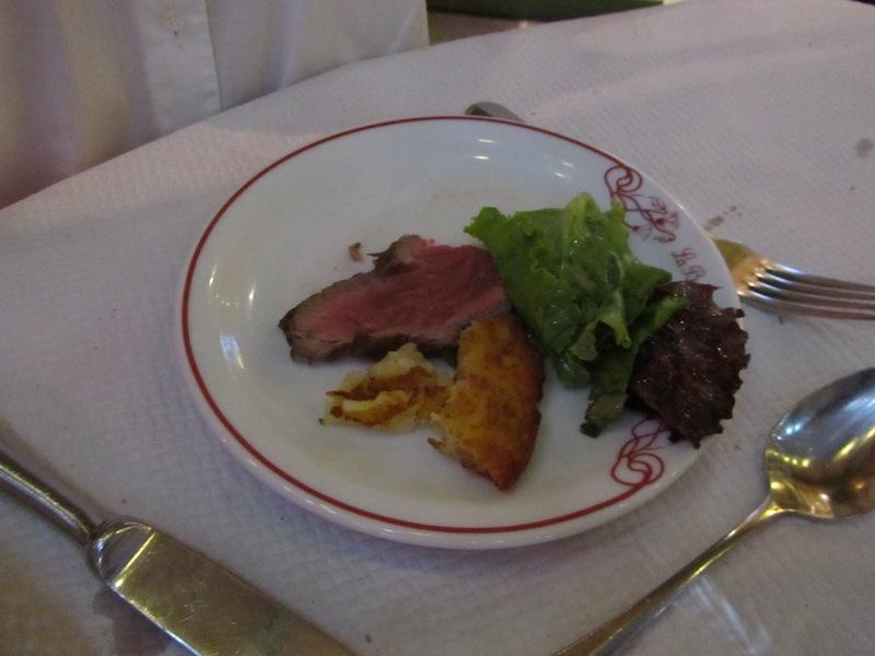 """""""Charolais a la plancha at ParisParis bloggers dinner at La Bonne Franquette Montmartre"""""""