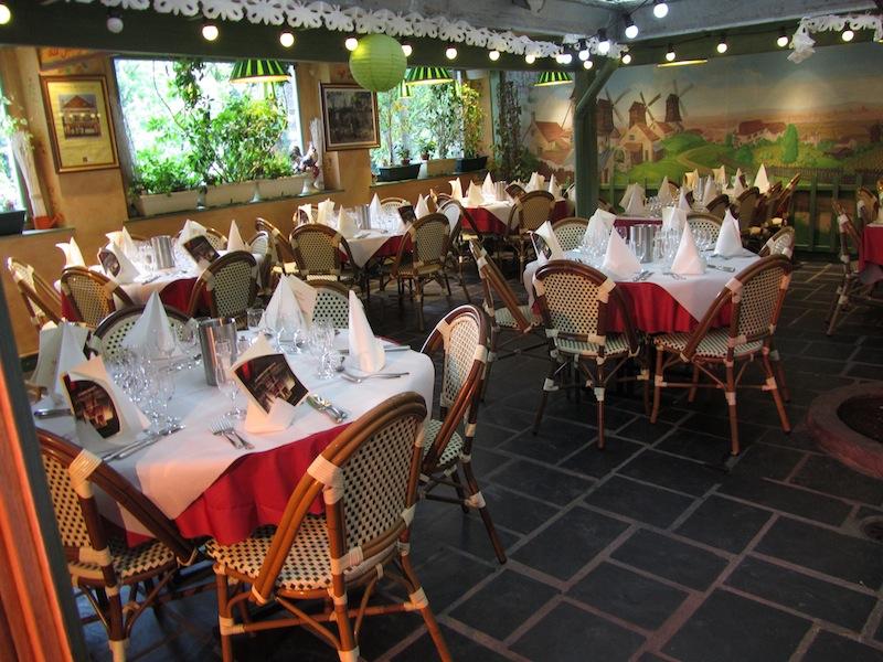 """""""Interior of Restaurant La Bonne Franquette Montartre Paris"""""""