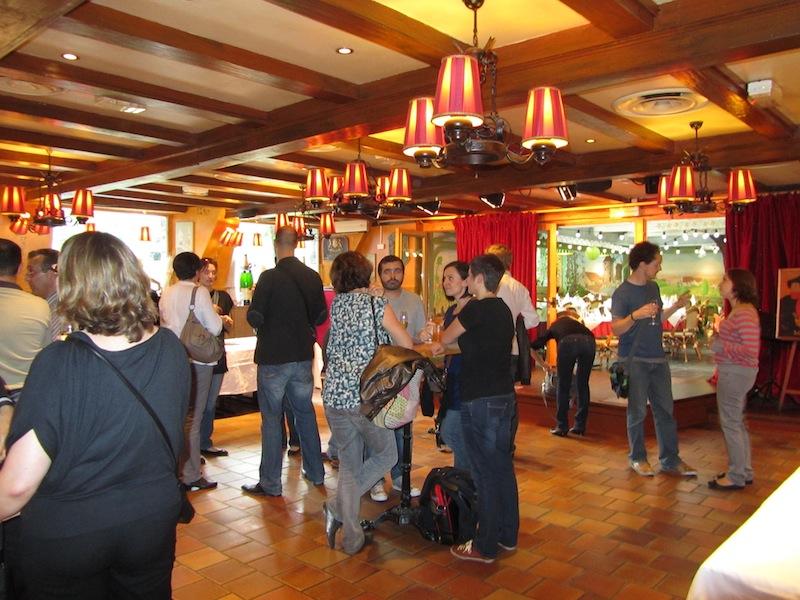 """""""Get to know aperitif ParisParis soiree at La Bonne Franquette Montmartre"""""""