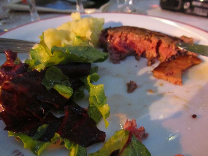 """""""Parfait de Charolais au foie gras de canard at ParisParis soiree dinner La Bonne Franquette"""""""